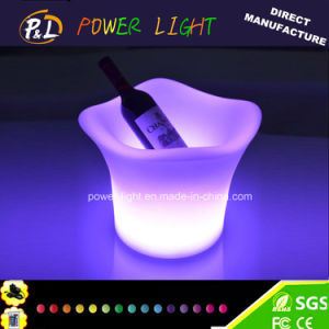 RGB Color Changing LED Ice Bucket /LED Light Ice Cooler pictures & photos