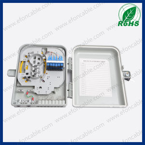 Outdoor 12 Core FTTH Fiber Optic Distribution Box pictures & photos