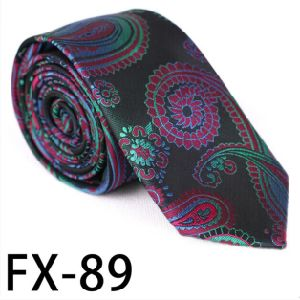 New Design Fashionable Novelty Paisley Necktie (Fx-89) pictures & photos
