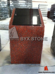 Red Granite Single Cremation Columbarium / Memorials pictures & photos