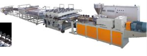 New WPC Foam Board Extrusion Machine, Wood Plastic Composite Extrusion Machine for Building Material pictures & photos