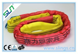 5t*8m Polyester Double Eye Round Sling Safety Factor 5: 1 pictures & photos