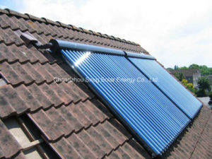 Anti-Freezing Heat Pipe Solar Collector for Resident House pictures & photos