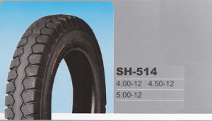 China Hot Sale 4.00-12, 4.50-12, 5.00-12 Tiller Tyre for Japanese Tractors pictures & photos