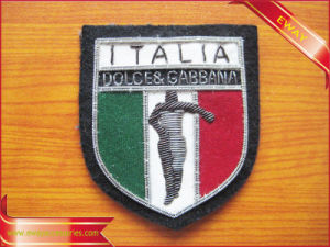 Men Sport Clothing Woven Patch Embroidery Patch pictures & photos