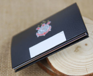 Promotional PU Leather Card Holder, Custom Name Card Holder, OEM Production Business Card Holder pictures & photos