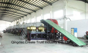 High Efficient Waste Tyre Crusher Machine with CE pictures & photos