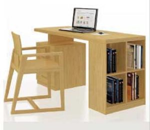 Modern Style Bamboo Office Chair Office Desk Set pictures & photos