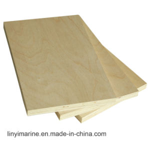 White Birch Veneer Plywood for Furniture or Packing pictures & photos