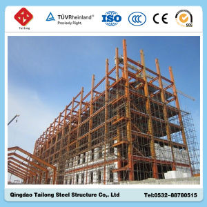 China Construction Low Price Prefabricated Steel Frame Structure Building pictures & photos