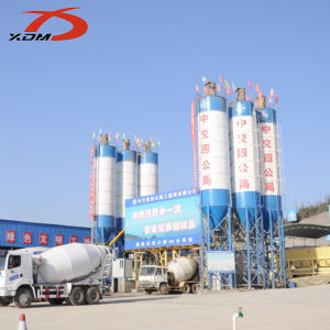 Stationary Concrete Batching Plant---Hzs120