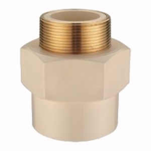 CPVC Pipe Fittings Male Adaptor (BRASS) pictures & photos