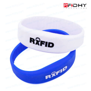 Contactless RFID Silicone Wristband Bracelet Watch Band Tag pictures & photos