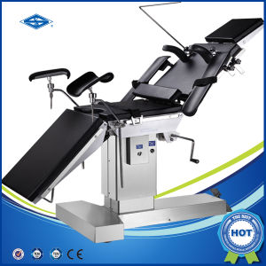 Manual Hydraulic Operating Table with Kidney Bridge (HFMS3001B) pictures & photos