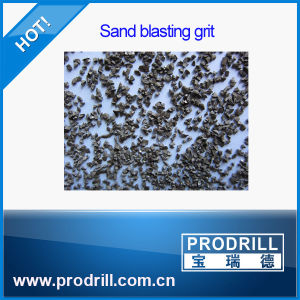Metal Abrasive Cast Steel Grit G25 with Blasting pictures & photos