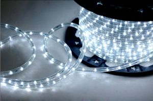 led rope light round wires white for Beatuful street light pictures & photos