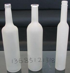 Glass Bottles for Vodka, Whisky, Liquor 100ml200ml 400ml 1000ml