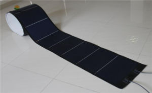 144W 24V Photovoltaic Thin Film Flexible Amorphous Solar PV Module pictures & photos