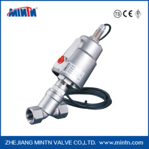 Piston Valve Operated Angle Seat Valves for Neutral and Acid Liquids and Gas Flow Above/Below The Seat pictures & photos