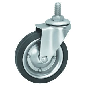 Heavy Duty Pneumatic Rubber Wheel Industrial Caster with High Quality pictures & photos