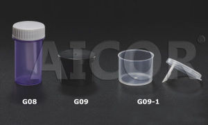 CE Approved 25ml Stool Container pictures & photos