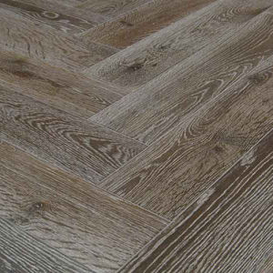 New Embossed Herringbone Joint Lamiante Laminated Flooring pictures & photos