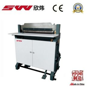 Semi Automatic Paper Punching Machine pictures & photos