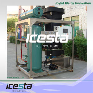 Icesta 5 Tons Food Grade Tube Ice Machine for Ice Plant pictures & photos