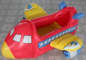 PVC Inflatable Toy Airplane
