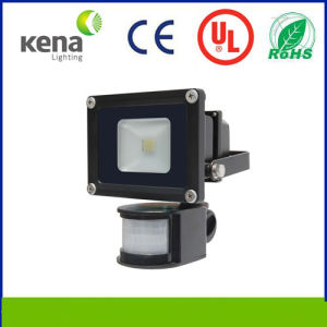 [Hot Sale Products] Low Price. Hi Hg Quality and Meanwell Dirver Lightings. High Power LED Flood Light 10W PIR with USA Bridgelux LED. (KNFL-1150-10W )