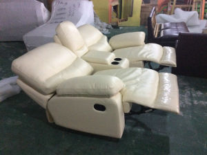 High Quality Soft Feeling Leather Recliner Sofa, Rocky Sofa (Y988) pictures & photos
