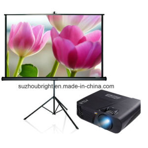 Wholesale Easy Portable Manual Projection Screen with Tripod Screen