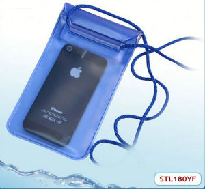 Low Price & High Quality Waterproof Beach Pouch for Cellphone (STL180YF)