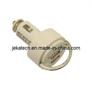 3.1A Round Ring Dual USB Car Charger pictures & photos