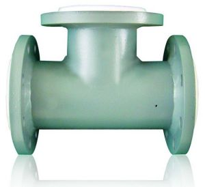 PTFE Lined Pipe (with fixed or rotation flange) pictures & photos