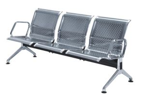 3-Seater Stainless Steel Waiting Chair with Star Holes (YA-52) pictures & photos
