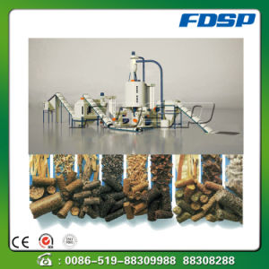 High Effect Wheat Straw Sawdust Pelleting Production Plant pictures & photos