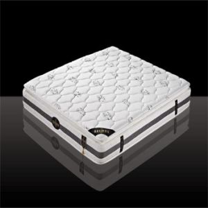 Pocket Spring Mattress with Latex Foam Pillow Top