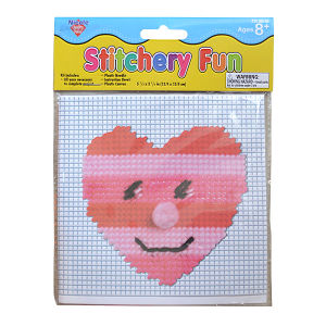 DIY Sewing Craft Cross Stitch Fun for Children (SF-355)