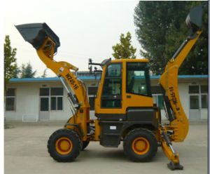 Compact Weifang Map 4WD Mini Backhoe Loader pictures & photos