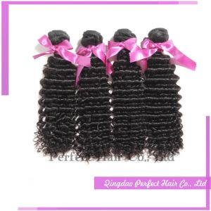 Malaysian Human Hair Deep Curly Weave pictures & photos
