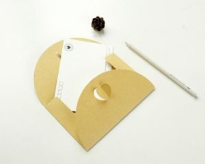 Pearlescent Paper Envelope with Closure pictures & photos