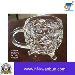 Machine Press Clear Glass Mug Glass Tumbler Kb-Jh06129 pictures & photos