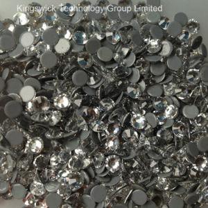 Mc Crystal Clear Hot Fix Flat Back Rhinestone High Quality Crystal Rhinestone pictures & photos