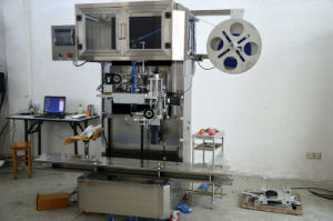 High Speed Automatic Cans Shrink Sleeve Labeling Machine pictures & photos
