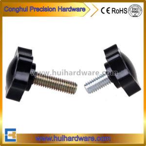 Black Plastic Round Star Head Knob Thumb Screw M4 M5 pictures & photos