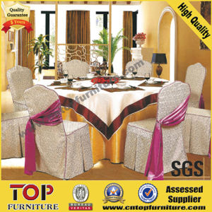 Classy Polyester Wedding Banquet Chair Covers pictures & photos