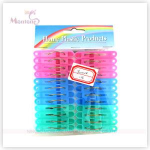 24PCS Plastic Clothes Pegs (3 colors assorted) pictures & photos