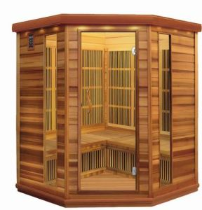 Far Infrared Sauna Corner Carbin (SS-450)