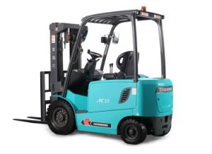 2.5ton 4 Wheel Electric Forklift with ZAPI Controller (FB15) pictures & photos